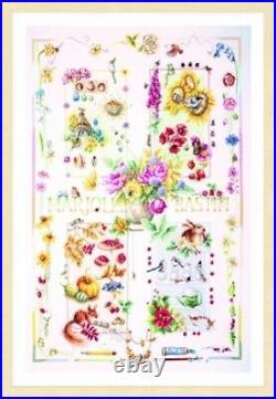 10% Off Lanarte Ctd X-stitch kit by Marjolein Bastin-4 Seasons-Special Edition