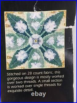 2001 Dimensions Gold Collection #35064 Lily Sampler Crosstitch Kit Open Pkg