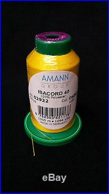 45 Cones Isacord Polyester Embroidery and Quilting Thread Kit #8