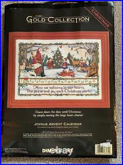 #8532 Dimensions Gold Collection Joyous Advent Calendar With Movable Charm