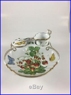 ANNE WEATHERLY Strawberries and Cream Porcelain New! $448
