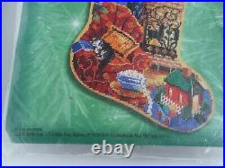 All Hearts Come Home 18 Christmas Stocking Kit Bucilla Needlepoint 60779 Rossi