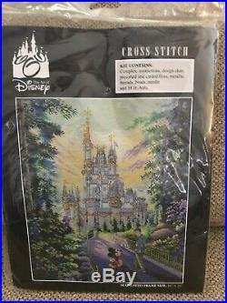 Art Of Disney Past Present & Forever Rare & Htf