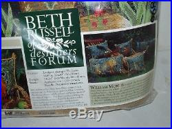 BETH RUSSELL Designers Forum Needlepoint Kit FOX William Morris NOS Untouched