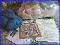 BETH RUSSELL Designers Forum Tapestry LG ACANTHUS RUG NEEDLEPOINT KIT Wm Morris