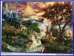 Bambi's First Year Disney Dream Collection Cross Stitch 52504 MCG Textiles NIP