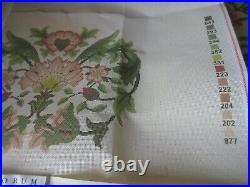 Beth Russell LODDEN 2 William Morris Design Needlepoint Kit Cushion/Chair Seat