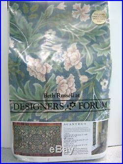 Beth Russell Needlepoint Kit William Morris Acanthus Cushion Complete New Sealed