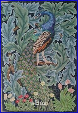 Beth Russell Needlepoint Peacock Kit New