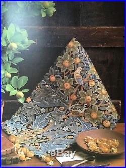 Beth Russell William Morris Woodpecker tapestry kit Appleton yarn