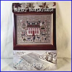 Black Bird Designs Cross Stitch Winter Wonderland Loose Feathers #39 Kit