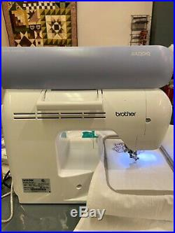 Brother PE-770 Embroidery Machine with Extra Hoops Gently Used PED+Starter kit