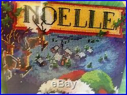 Bucilla 60775 OVER THE ROOFTOPS Needlepoint Stocking Kit Rossi Sealed