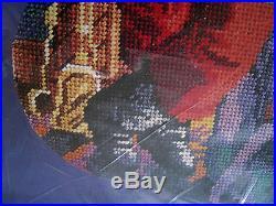 Bucilla Christmas Needlepoint Stocking Kit, CHECKING IT TWICE, 60766, Rossi, 18