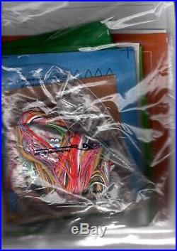 Bucilla Christmas in Oz Scarecrow Lion Wizard Holiday Felt Stocking Kit 86200