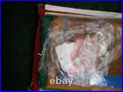 Bucilla Felt Applique Holiday Stocking Kit, CHRISTMAS IN OZ, Wizard, 86200,18, Rare