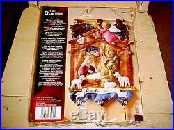Bucilla Felt Christmas Kit Nativity Manger Wall Hanging Baby Jesus NEW #85331