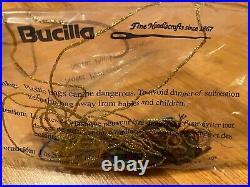 Bucilla Holiday Christmas Needlepoint Stocking Kit, MERRY CHRISMOOSE 60760 (Read)