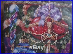 Bucilla Holiday Needlepoint Stocking Kit, ORNAMENTS OF CHRISTMAS, 60742, Rossi, 18
