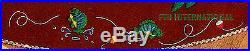 Bucilla Santa's Lodge 43 Felt Christmas Tree Skirt Kit #84276, Fishing, Cabin