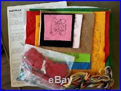 Bucilla Trim a Tree Advent Calendar Christmas Jeweled Sequin Kit 48799 Open 1981