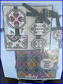 Catherine Theron QUAKER SEWING CASE Counted Cross Stitch KIT