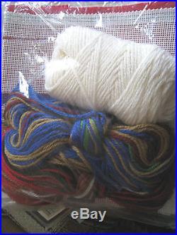 Christmas Bucilla Holiday Needlepoint Stocking Kit, DOWN THE CHIMNEY, 60690,18