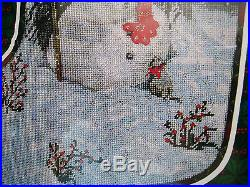 Christmas Candamar Holiday Needlepoint Stocking Kit, PLAYMATES, 30897, Bergeron, 17