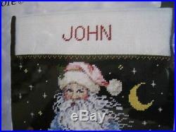 Christmas Candamar Needlepoint Stocking Kit, FATHER FROST, Santa, 30905, Gilmore, 19