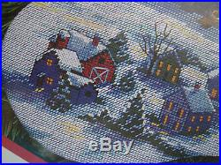 Christmas Dimensions Counted Cross Holiday Stocking Kit, HERE COMES SANTA, 8492,16