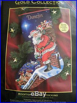 Dimensions Christmas Stocking Kits.Christmas Dimensions Gold Collection Counted Stocking Kit