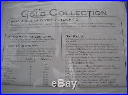 Christmas Dimensions GOLD Counted Cross Stocking KIT, ANGEL OF DIVINITY, 8478,16