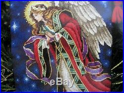 Christmas Dimensions GOLD Counted Cross Stocking KIT, HEAVENLY HERALD, 8639,16