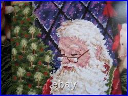 Christmas Dimensions Needlepoint Stocking Craft Kit, SANTA'S TOY SHOP, 9123,16