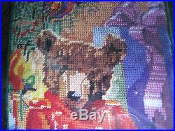 Christmas Holiday Bucilla Needlepoint Stocking Kit, LITTLE DRUMMER BEAR, 84646,18