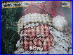 Christmas Holiday Dimensions Needlepoint Stocking Craft Kit, DEAR SANTA, 9107,16