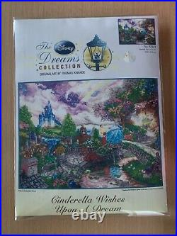 Cinderella Thomas Kinkade Disney Dreams Cross Stitch 16x12