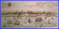 Complete New Cross Stitch Kit Amsterdam 1650 Sampler Eva Rosenstand 12-318