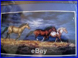 Counted Cross Dimensions GOLD COLLECTION PICTURE KIT, THUNDER RIDGE, Horses, 3853