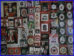 Counted Cross Stitch Huge Mixed Lot 173 Kits & Items To Stitch No Duplicates