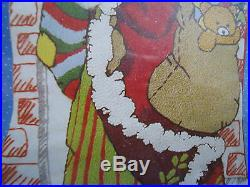 Crewel Stitchery Good Shepherd Holiday STOCKING KIT, SPIRIT OF CHRISTMAS, 87602,16