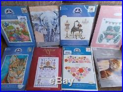 Cross stitch Kits Assorted Designs & Makes New 15 kits job lot No 2
