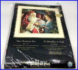 DIMENSIONS Gold Collection One Christmas Eve Dean Morrissey Cross Stitch Kit NIP