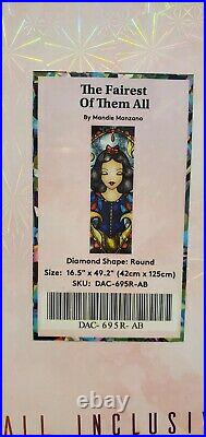 Diamond Art Club Fairest of Them All by Mandie Manzano Sealed Discontinued