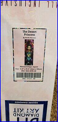 Diamond Art Club The Desert Princess by Mandie Manzano Sealed Discontinued
