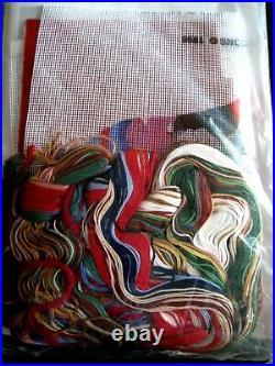 Dimensions Christmas Holiday Needlepoint Stocking Kit, SANTA'S STORY, 9103,16