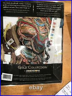 Dimensions Counted Cross Stich Gold Collection Soul Of The Rose 35210