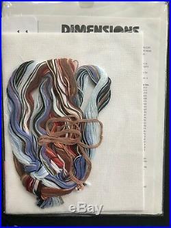 Dimensions Counted Cross Stitch Kit Scenic Farm #3841 (1997) Mildred Kratz