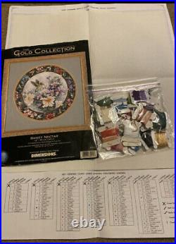 Dimensions, Cross Stitch, Sweet Nectar, 35011 GOLD COLLECTION Picture KIT, Lena Liu