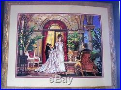 Dimensions GOLD COLLECTION Needlepoint Kit #2493 SUMMER ROMANCE by Alan Maley
